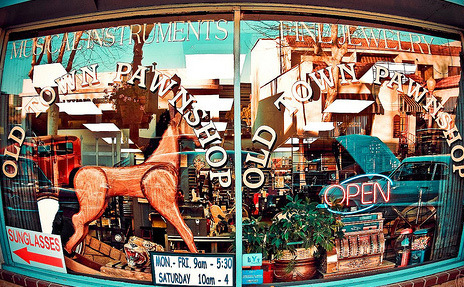 O.C.'s favorite pawnshop on Main St. 92840