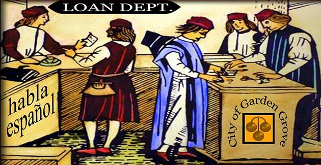 old pawnshop card
