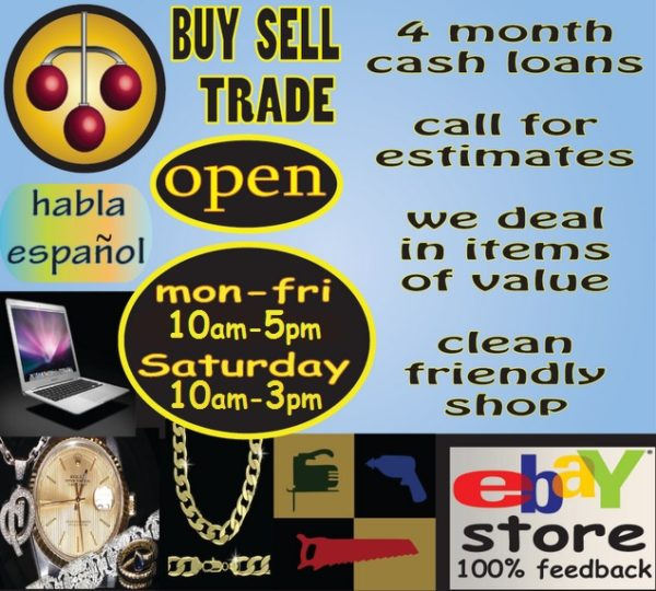 pawnshop phone advert copy